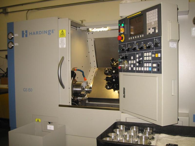 Hardinge GS150 3-Axis Lathe with Live Tools